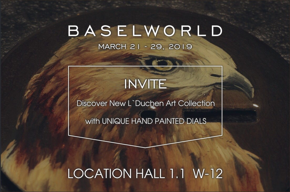 Baselworld 2019 arrive